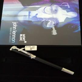 台中流當品拍賣 原裝 Montblanc 萬寶龍 John Lennon 約翰藍儂 限量 鋼珠筆 9成99新