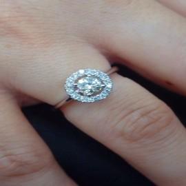 台中流當品拍賣 流當鑽石拍賣 豪華 46分 H色 女鑽戒 喜歡價可議