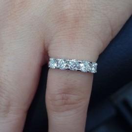 台中流當品拍賣 流當鑽石 造型 D色 1克拉 線戒 喜歡價可議