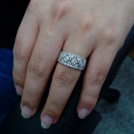 台中流當品拍賣 流當鑽石 粉平凡的線戒 G色 約40分 K金 線戒 特價出清