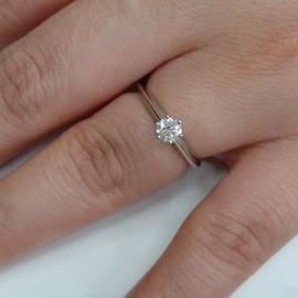 台中流當品拍賣 流當鑽石 真品 Tiffany & Co 8心8劍 27分 F色 PT950 純白金 鑽戒 喜歡價可議